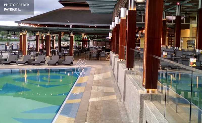 Rajang Lobby Lounge Terrace Grand Margherita Hotel